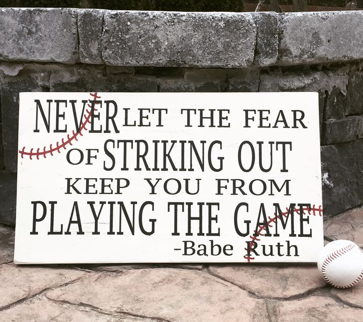 Persistence Motivational Quotes: Best 25+ Babe Ruth Signed Baseball Ideas On Pinterest
