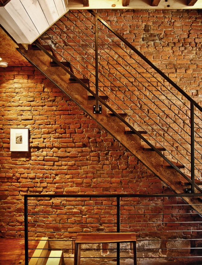 I LOVE LOVE LOVE exposed brick and lofts!!!!-Tara F