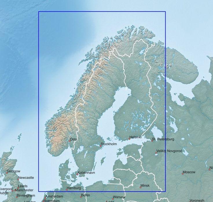 skandinavische baltische staaten garmin karten. Black Bedroom Furniture Sets. Home Design Ideas