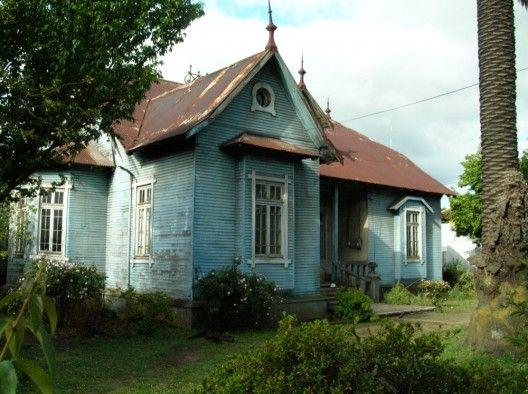 casas viejas de chile   Patrimonio en Chile: El impresionante rescate de la Casa Lienlaff ...
