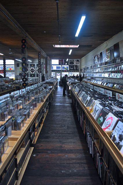 a record store + vinyl