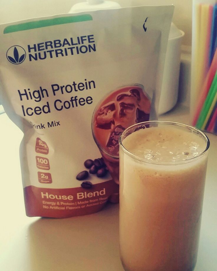 High protein iced coffee nutrition blog herbalife