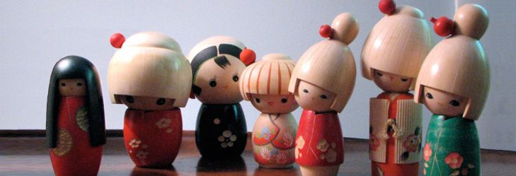 kokeshi · dolls · toys · inspirationonly