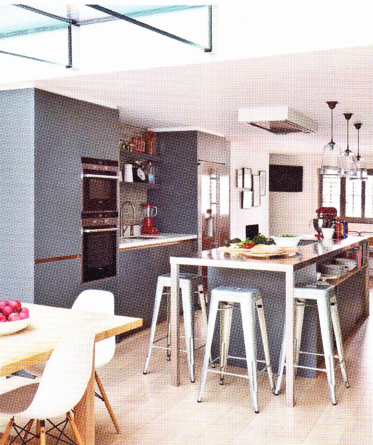 Roundhouse kitchen - non white units
