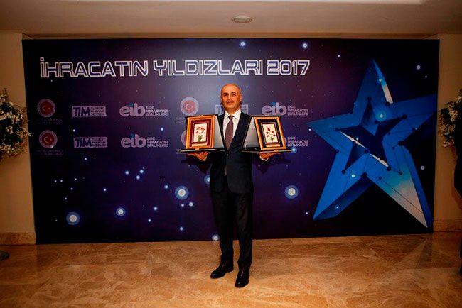 """Türkiye'nin ilk ve tek entegre petrokimya tesisi olan Petkim, Ege Bölgesi'nin 'En Fazla İhracat Gerçekleştiren Firması"""" ve 'Kimya Sektörünün  Yakamoz Yakut culture and arts news"""