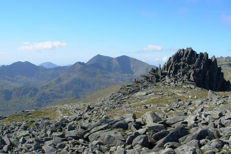 On the Glyders during the Welsh 3000s