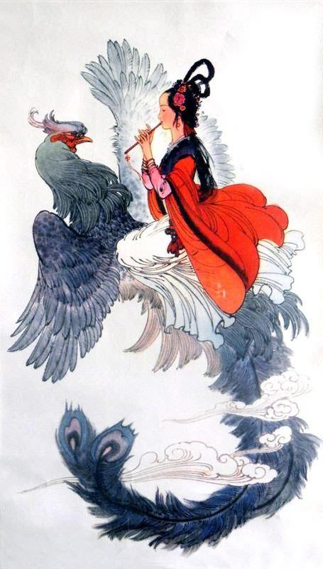 Drawings Phoenix Rising Woman