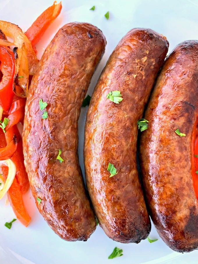 Quick and Easy Air Fryer Sausage + {VIDEO} in 2020 (With