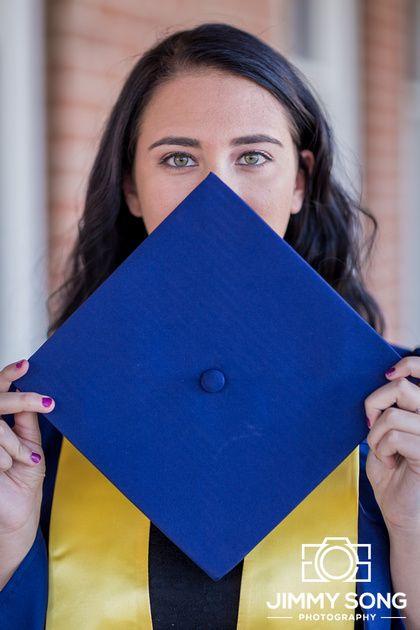 Winter Senior Graduation Pictures in Tucson Arizona University of Arizona