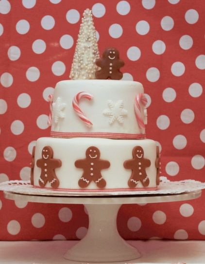 christmas cake 2013 maybe a Santa on top as well