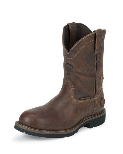 Men's Rugged Utah Waterproof Composite Toe Boot - WK4685