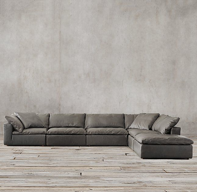 Preconfigured Cloud Modular Leather L Sectional · Modern SofaSectional ... Part 96