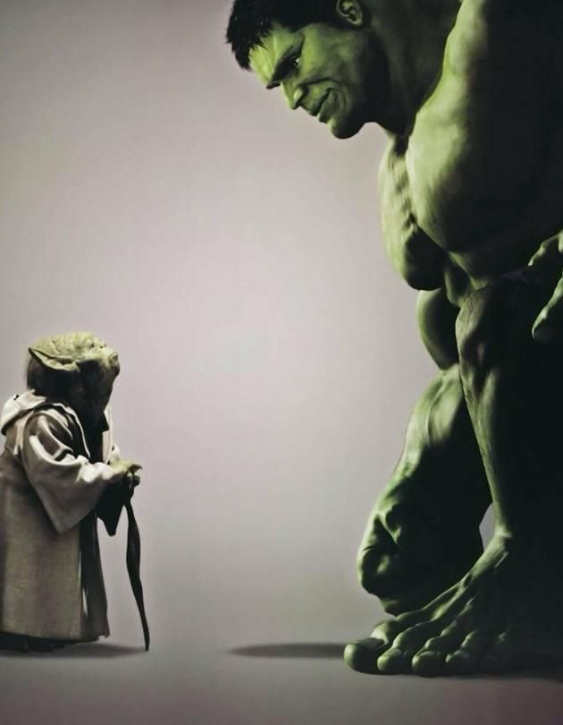 Hulk, Yoda is your father