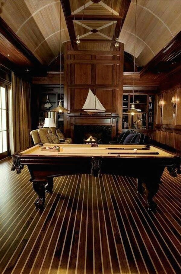 This is a stellar, cozy and very upscale club room. Wouldn't you enjoy having a space such as this in YOUR home?