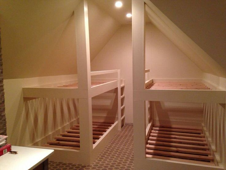 Attic Bunk Beds Attic Pinterest Bunk Bed And Attic