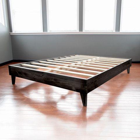 North American Pine Platform Bed | Bed Frames