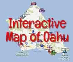 Interactive Oahu Map