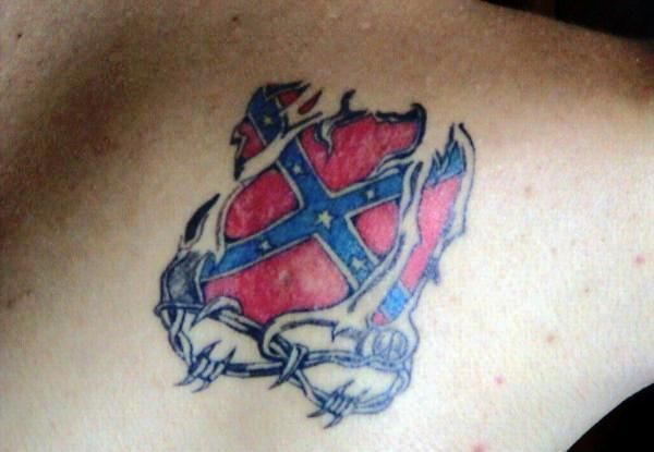 best 25 rebel flag tattoos ideas on pinterest flower side tattoos country girl tattoos and. Black Bedroom Furniture Sets. Home Design Ideas