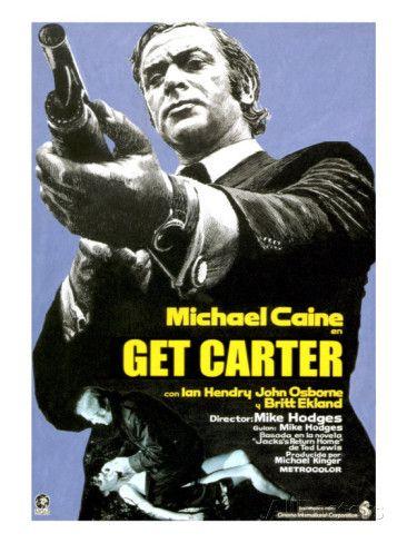 Get Carter, Michael Caine, 1971 Premium Poster