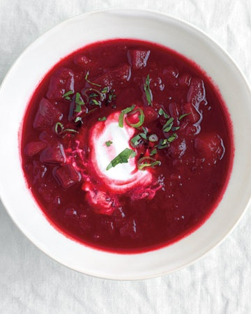 shall I trust a borscht recipe from...martha?