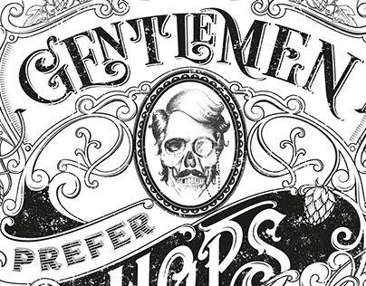 "Check out new work on my @Behance portfolio: ""GENTLEMEN PREFER HOPS - t-shirt design"" http://be.net/gallery/38338317/GENTLEMEN-PREFER-HOPS-t-shirt-design"