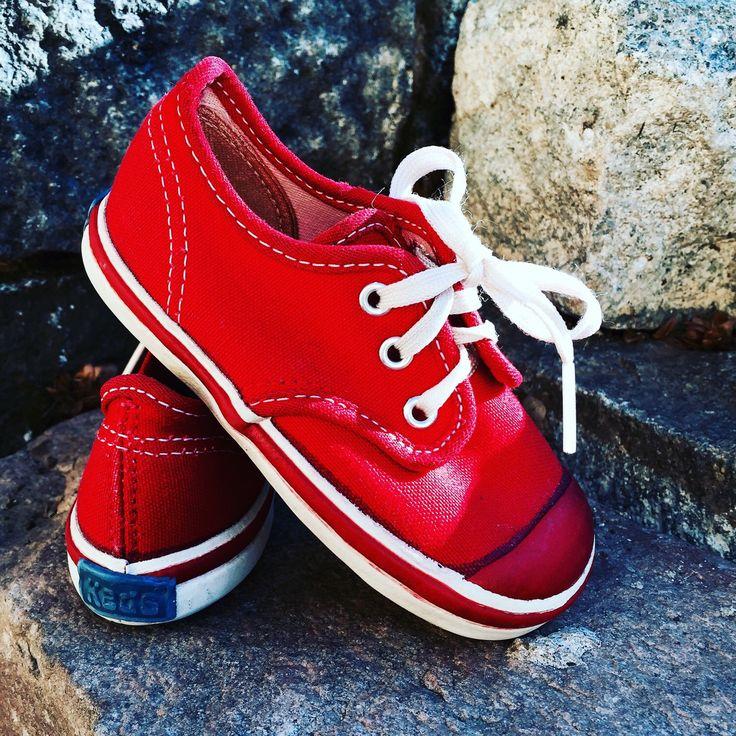 red kids keds