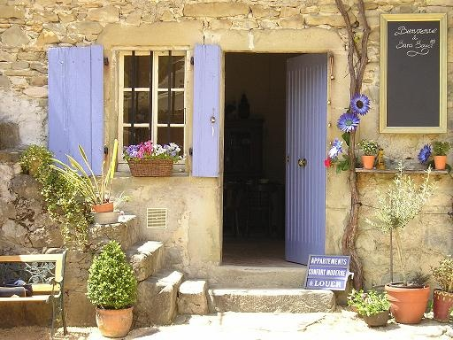 We have been here once before but it is defintely on our places-to-return-to-list. Ferme de Pauroux, La Drome, France