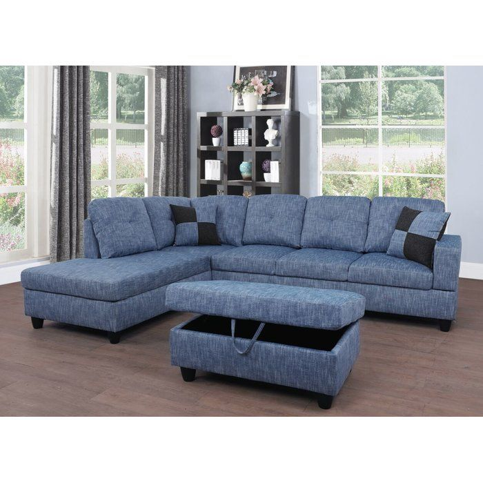 Russ Sectional With Ottoman In 2019 Couch Cheap Living Room Sets Furniture Sofa