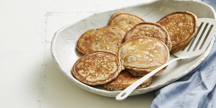Foolproof Gluten-free Pancakes via @iquitsugar