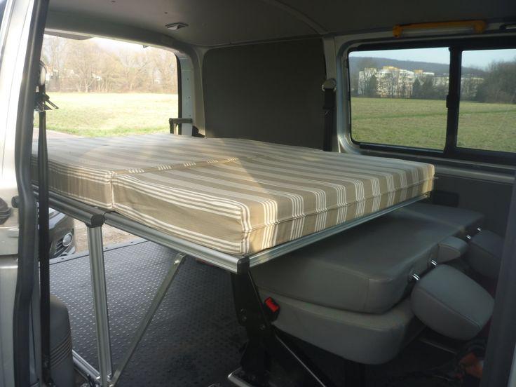 272 best vw bus ausbau images on pinterest campers van. Black Bedroom Furniture Sets. Home Design Ideas