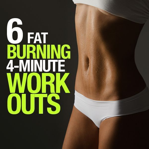 Got 4 minutes? No matter how busy you are, chances are good you can invest 4 minutes of the day into caring for your body. Enter the 4-Minute Fat Burning Workouts!