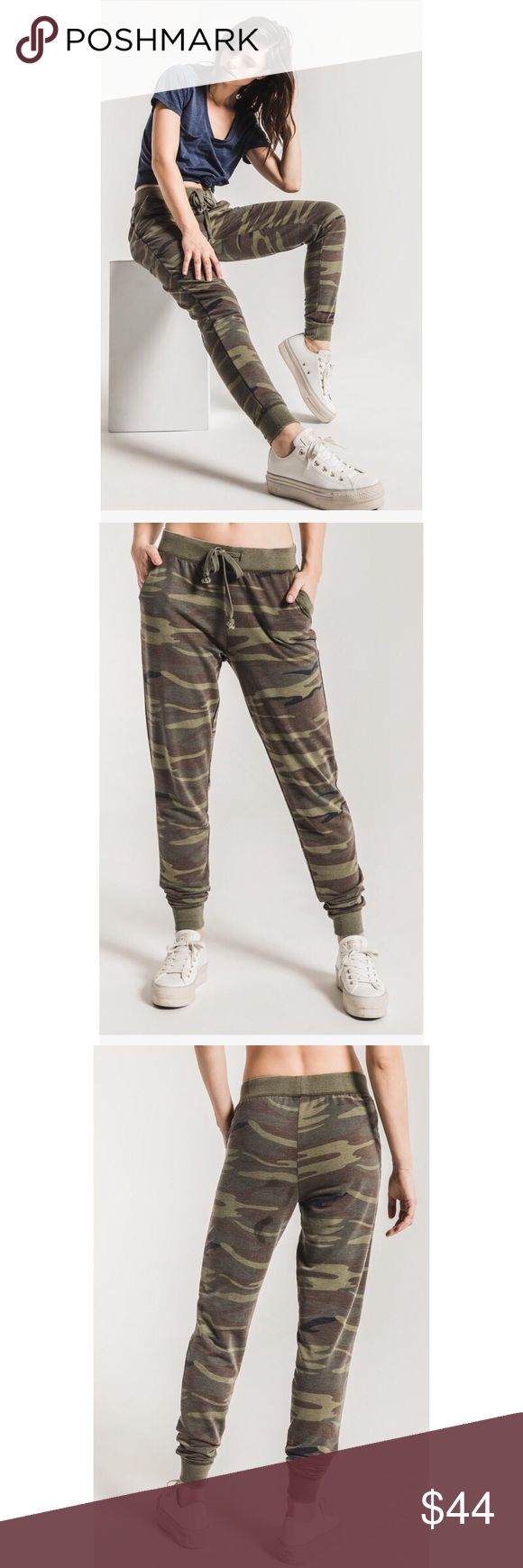 NWT  Z Supply camo jogger pant NWT Z Supply camo jogger pants! Green camo with pockets! Z Supply Pants Track Pants & Joggers