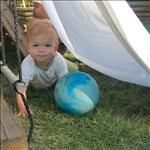 Nearly 2,000 Educational Activities for Babies, Divided by Age (Early Infant through Age 4)--contains a variety of activities targeting skills like balance & coordination, emotional development, attention span, cause and effect, concept development, language development, listening, matching, object permanence, sensory development, and much more--a GREAT resource!