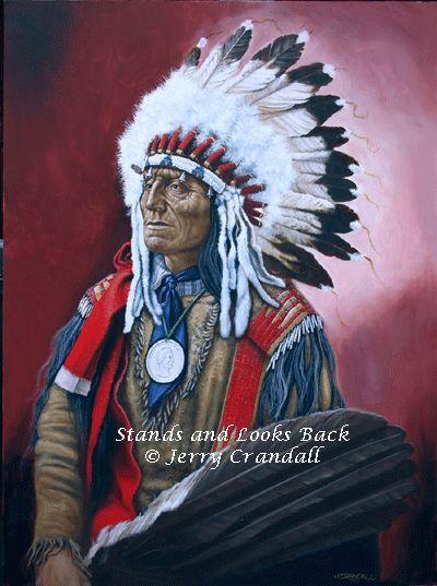 Steht und schaut zurück von Jerry Crandall kp