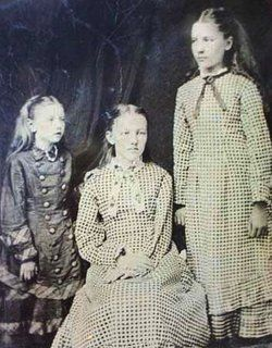 Carrie, Laura, and Mary Ingalls