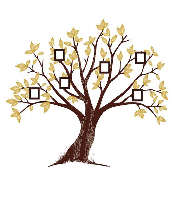 DCWV Peel & Stick Wall Kit-Family Tree at Joann.com