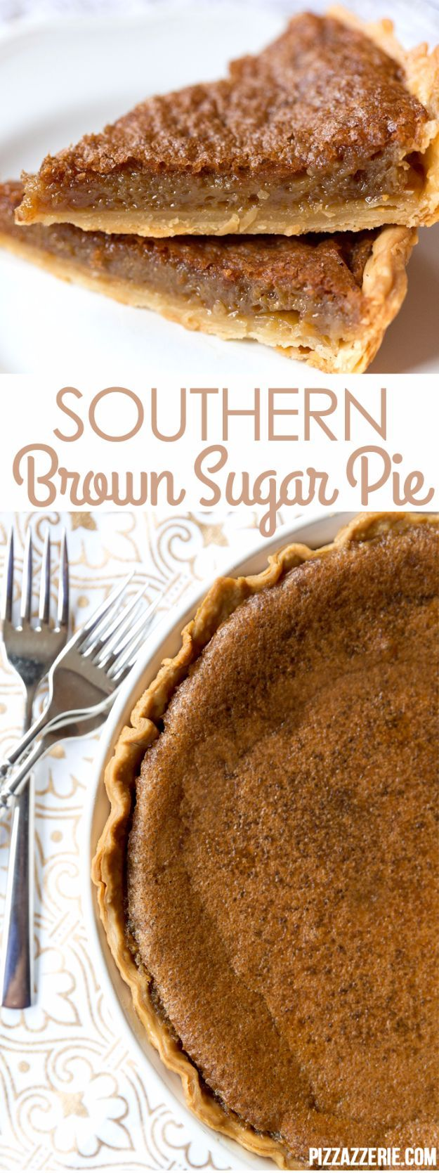 Best Country Cooking Recipes - Southern Brown Sugar Pie - Easy Recipes for Country Food Like Chicken Fried Steak, Fried Green Tomatoes, Southern Gravy, Breads and Biscuits, Casseroles and More - Breakfast, Lunch and Dinner Recipe Ideas for Families and Feeding A Crowd - Step by Step Instructions for Making Homestyle Dips, Snacks, Desserts http://diyjoy.com/country-cooking-recipes