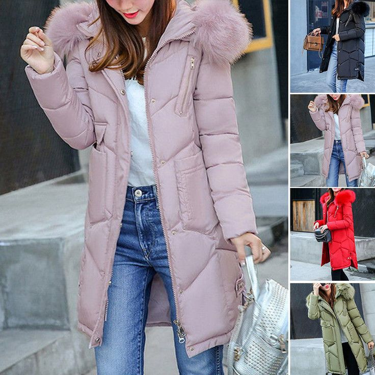 Fashion Women Winter Coat Down Jacket Lady Hooded Jacket Long Parka Plus Elegant