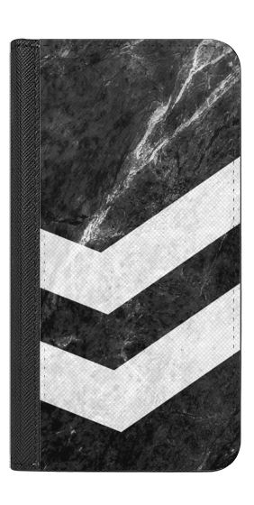 Casetify iPhone 7 Wallet Case - White on Black Striped Marble by Nicklas Gustafsson #iphone #iphone7 #iphone7case #iphonecase #marble #marblecase #case #blackandwhite #striped #stripe #stripes #casetify #wallet #iphonewallet