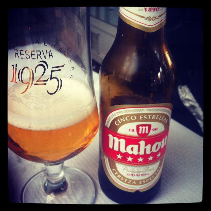 Cerveza Mahoy y Alhambra Reserva #desencuentros