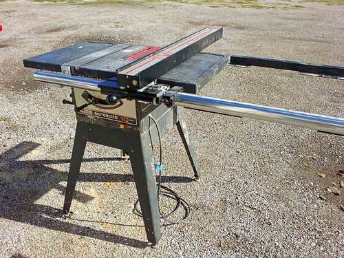 The 25 best craftsman table saw ideas on pinterest table saw fence upgrades for craftsman table saw by jarodmorris lumberjocks woodworking community greentooth Image collections