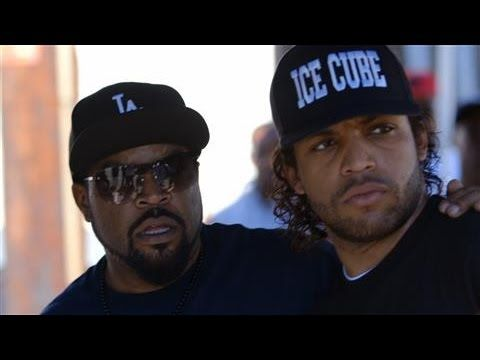 "Rapper Ice Cube and his son O'Shea Jackson, Jr. discuss their movie ""Straight Outta Compton,"" N.W.A.'s legacy and police brutality at the WSJ Cafe. Subscribe..."
