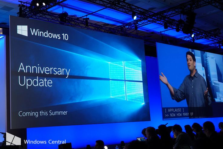 The next best thing (samsung words) Its revolutionary! (apple words) The Windows 10 Anniversary Update arrives for free this summer
