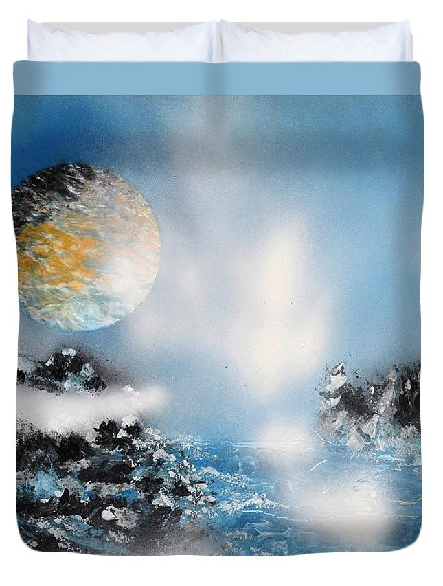 Printed with Fine Art spray painting image Light Rain by Nandor Molnar (When you visit the Shop, change the size, background color and image size as you wish)