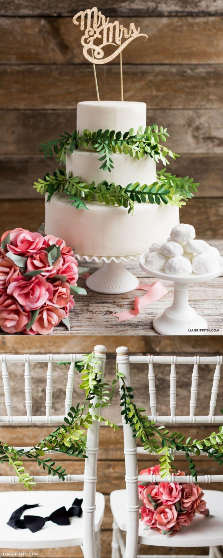 Paper Boxwood DIY Wedding Decorations | Diy wedding ...