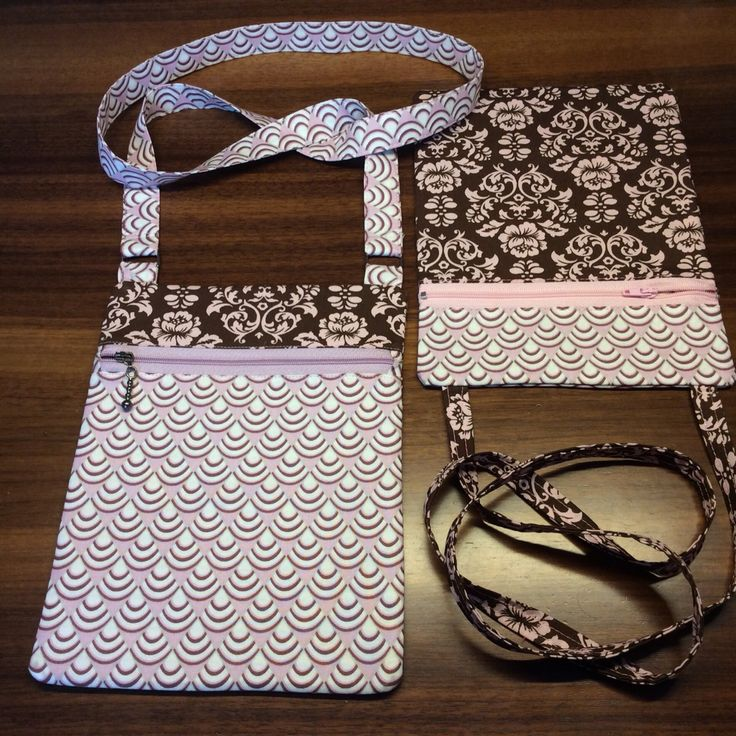 Over-the-Shoulder Bag 1 and 2