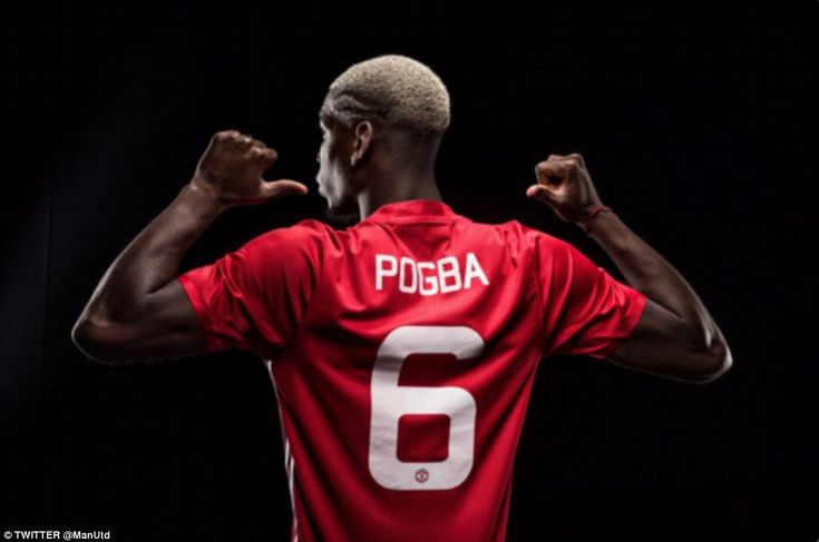 Paul Pogba (FRA) - From Juventus (ITA) to Manchester United (ENG) -  £100million - 2016