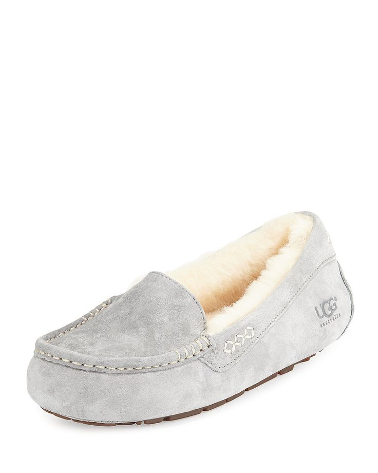 ugg bedroom slippers. Water resistant suede slipper by UGG  the epitome of relaxed luxury fuses fashion and comfort Squared toe with moccasin stitching Best 25 Ugg slippers ideas on Pinterest Grey ugg