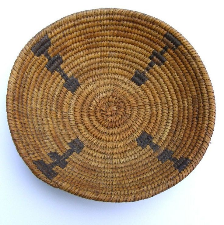 PIMA INDIAN NATIVE AMERICAN BASKET 19TH CENTURY EARLY 20TH
