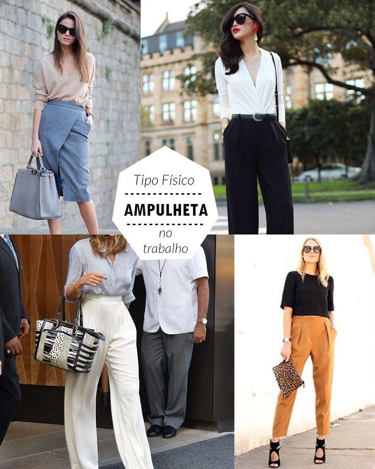 Veja quais tipos de looks são bacanas para o TIPO FÍSICO AMPULHETA usar no trabalho